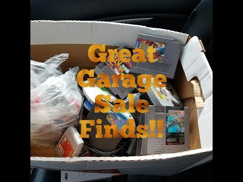 Video game hunting: Goodwill, thrift stores,and big garage sale find!