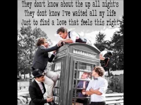 They Don't Know About Us - One Direction [LYRICS w/ MATCHED VOICE PICTURES]