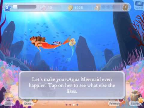 Mermaid World gameplay