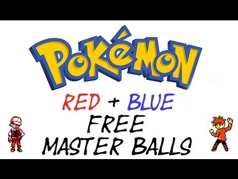 Pokemon Red and Blue - Master Ball Cheat | GameShark Codes