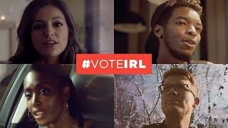 #voteIRL - Use Your Voice. Vote in Real Life.