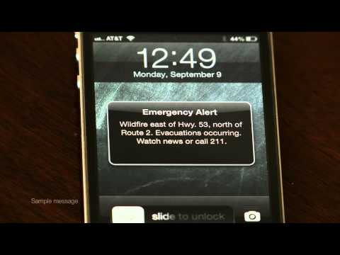 Wireless Emergency Alerts - San Diego County Sheriff's Department