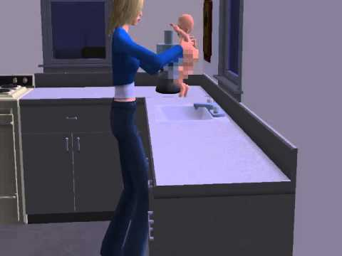 Sims 2 Diaper Change