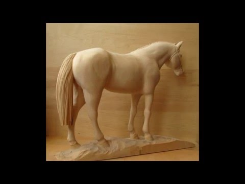 Wood carving sculpture