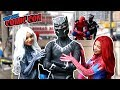 BLACK PANTHER VS SPIDER MAN VS New York Comic Con 2017 Ft DEADPOOL