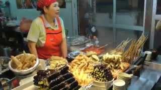 Download Haeundae Street Food Markets Busan South Korea Video