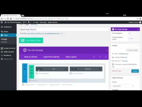 How to Edit Website Content with DIVI Page Builder in Wordpress