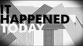 R.E.M. - It Happened Today [Official Lyrics]