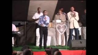 Worshing with the song Mhlekazi at NJ Sithole