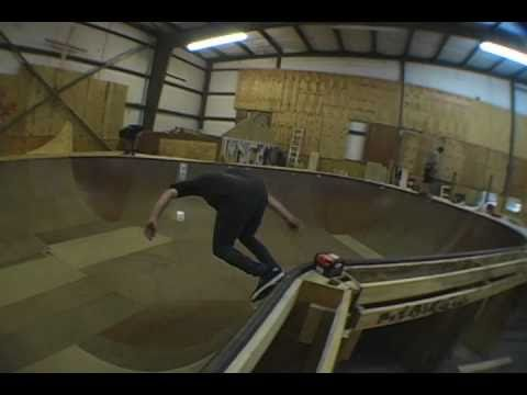 Building of the wooden Bowl at North Georgia Skatepark