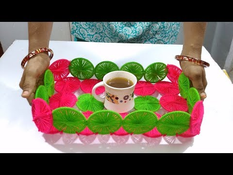 best out of waste crafts idea bangles craft Recycle old bangles to make handmade basket