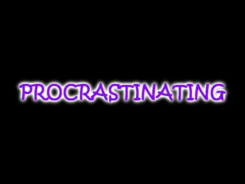 Stop Procrastinating & Finish Your Homework! =]