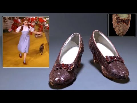$300,000 Is Desperately Needed To Save Dorothy's 'Wizard of Oz' Ruby Slippers