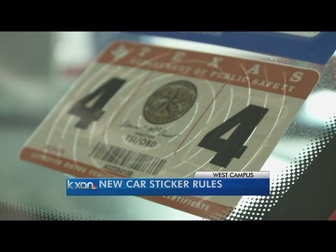 Texas bids farewell to the inspection sticker