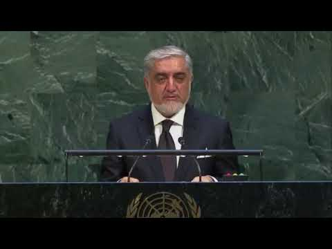 STATEMENT BY  H.E. Abdullah Abdullah to the UN