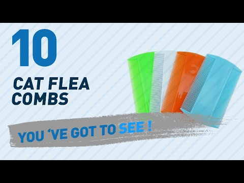 Top 10 Cat Flea Combs // Pets Lover Channel Presents: