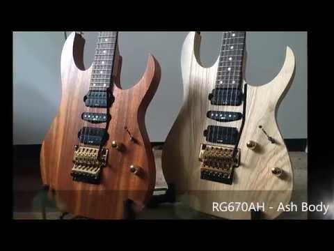 Ibanez RG670 Genesis - Mahogany vs Ash body