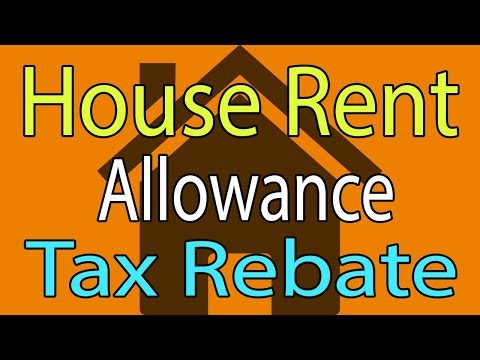 HRA Calculation & Taxability - Hindi Video House Rent Allowance Tax Rebate