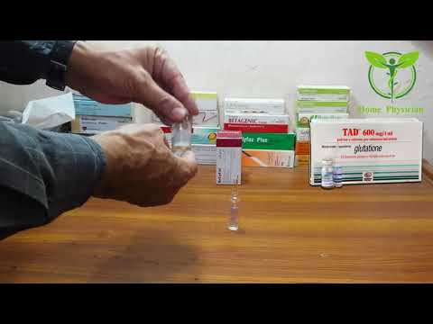Glutathione Skin Whitening Injection, Anti Aging, Anti Wrinkles, Clear Skin & Smooth Skin