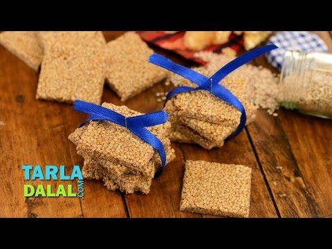 Til Chikki (Makar Sankranti Recipe), Sesame Jaggery Chikki by Tarla Dalal
