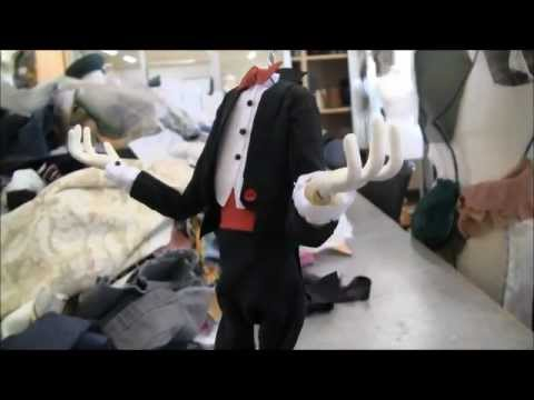 stop motion tech - Animatable coat tails