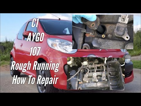 Engine Misfire Citroen C1 Toyota AYGO Peugeot 107, How To Repair (Lack Of Power Rough Running)