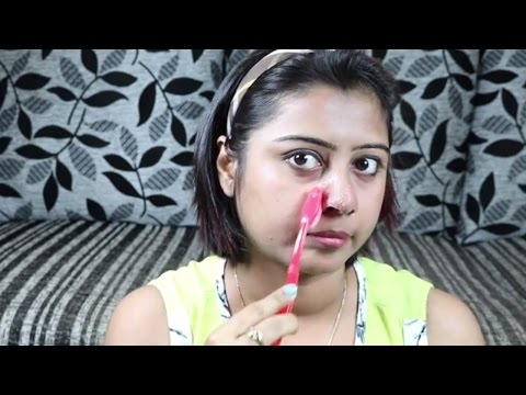 How to Remove Blackheads & Whiteheads from nose at home || Get Rid of Blackheads
