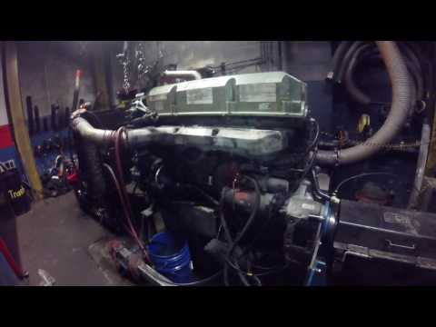 Tag Number 1503444 Detroit 60 Series 12.7 DDC4 470 HP Test Run