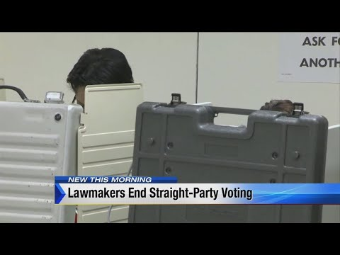 Michigan lawmakers vote to end straight-ticket voting option