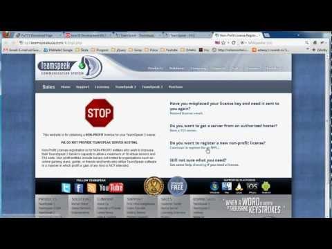 TeamSpeak 3 server on VPS (Non-Profit licence)