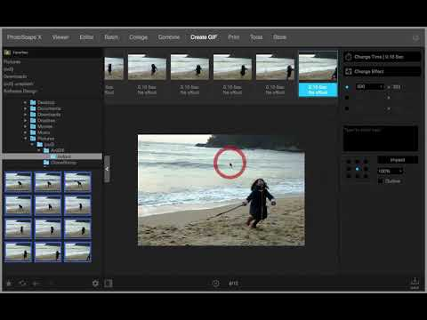 Create GIF - PhotoScape X 2.3