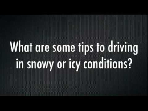 Winter Driving Tips: Snow, Ice, and Chain Driving