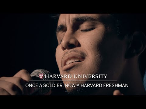 Army veteran and Harvard freshman hopes to inspire Mexican-Americans through singing