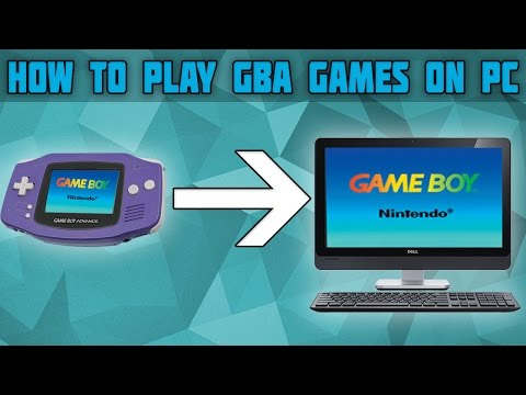 How to Play Game Boy Advance games on PC! Visual Boy Advance Speed Fix! GBA Games on PC!