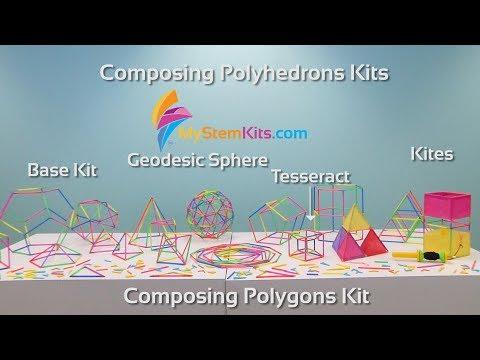 Composing Polygons and Polyhedrons Kits