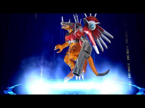 Digimon Story: Cyber Sleuth RizeGreymon, Garurumon, Rapidmon Digivolve Evolutions! ライズグレイモン, ラピッドモン