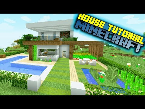 Minecraft: How to Build a Modern House - House Tutorial / Easy /