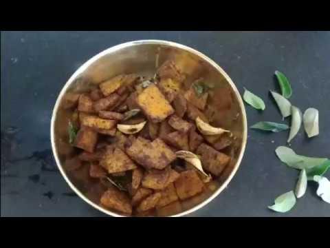 Karunai kilangu | senai kizhangu fry | elephant foot yam