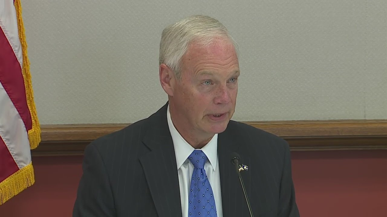 Sen. Ron Johnson with families on adverse reactions to COVID vaccine   FOX6 News Milwaukee