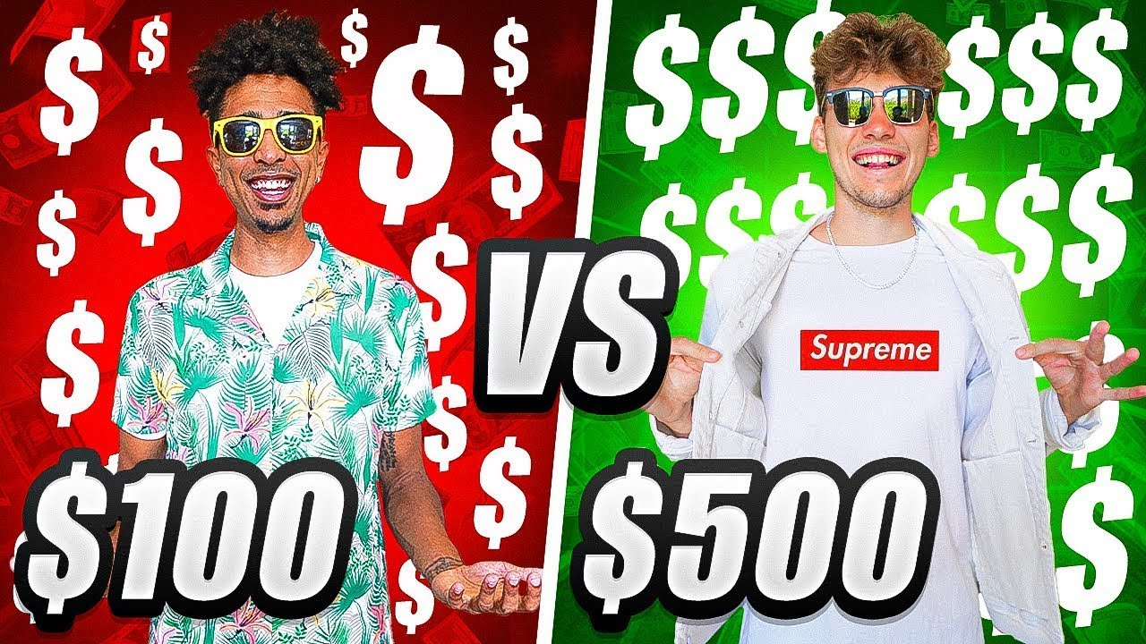 $100 vs $500 Full Outfit *Budget Challenge*