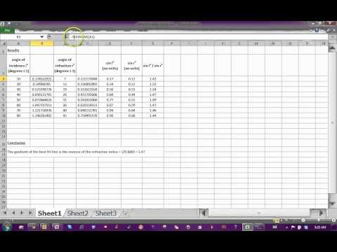 converting degrees into radians in excel.mp4