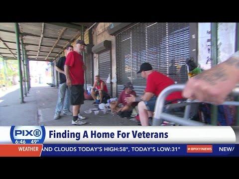 Veterans helping homeless veterans