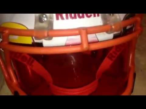 How to tint a football visor with koolaid packs