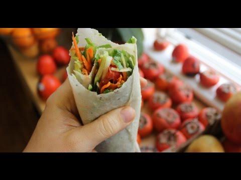 Raw Vegan Tortilla Wrap 1 Ingredient !!