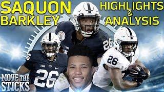 Saquon Barkley College & High School Highlights & Analysis   MTS 360 Series