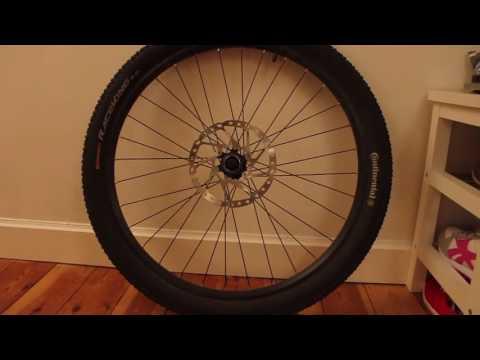 How to remove a Shimano SLX RT64 centerlock disc brake disc