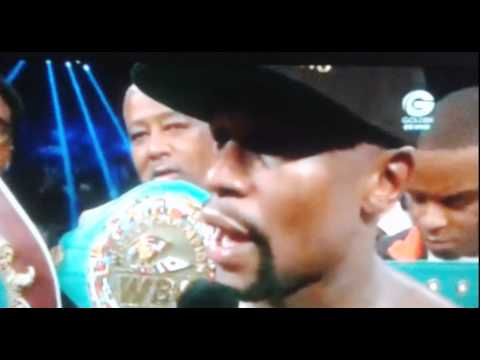 Floyd Mayweather VS Manny Pacquiao MAY 02 2015 HD