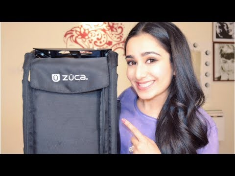 Whats in my Professional Makeup Kit? Zuca Bag
