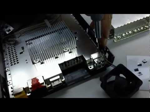 How to open NINTENDO Wii U ( WiiU ) - (TAKE APART / DISASSEMBLE / teardown)