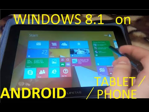 How to install WINDOWS 8.1 on ANDROID TABLET/PHONE?? [TOUTORIAL]